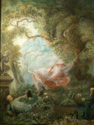 Painting after Fragonard
