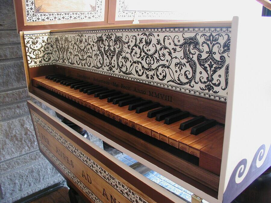 Robertson Harpsichords Harpsichords Flemish Harpsichord After